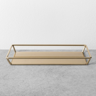 Towel Tray - Brass - Hearth & Hand™ with Magnolia