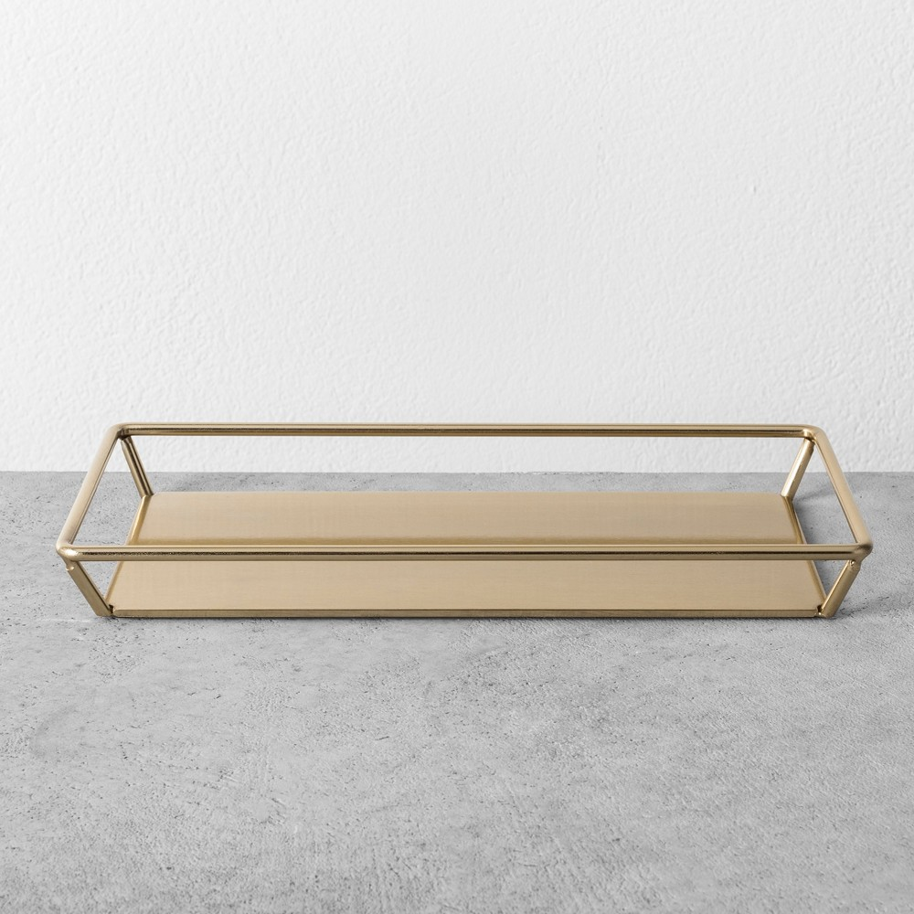 Towel Tray - Brass - Hearth & Hand with Magnolia