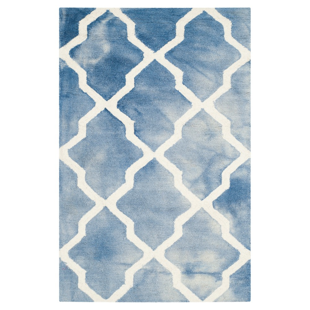 Page Accent Rug - Blue / Ivory (2' X 3') - Safavieh