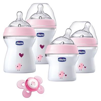 Chicco NaturalFit Newborn Gift Set - Pink