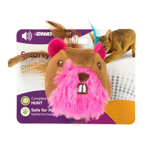 SmartyKat Chit Chatter Electronic Sound Cat Toy - image 1 of 4