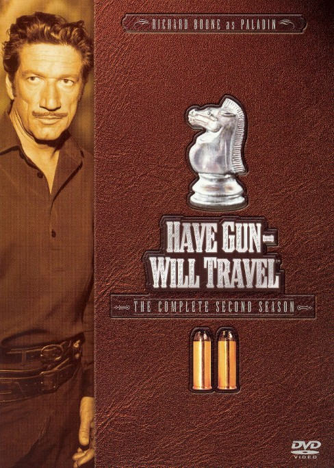Have Gun Will Travel:Complete Second (DVD) - image 1 of 1