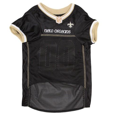 fabd4ab8f New Orleans Saints Pets First Mesh Pet Football Jersey - Black XL ...
