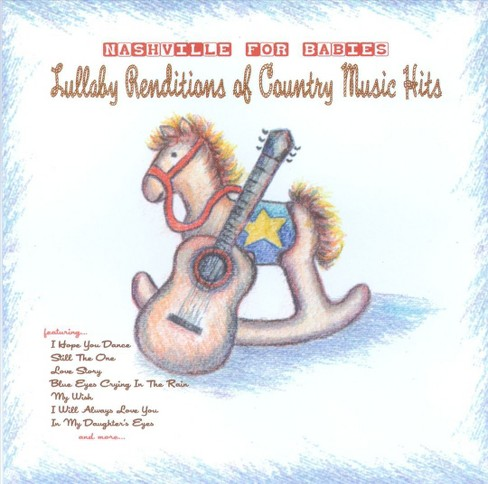 Sleepytime rangers - Nashville for babies:Lullaby country (CD) - image 1 of 1