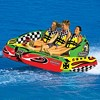 Airhead Chariot Triple Rider Towable Tube w/ 4K Booster Ball Towing System - image 2 of 4