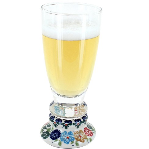 Blue Rose Polish Pottery Amelie Beer Glass - image 1 of 1