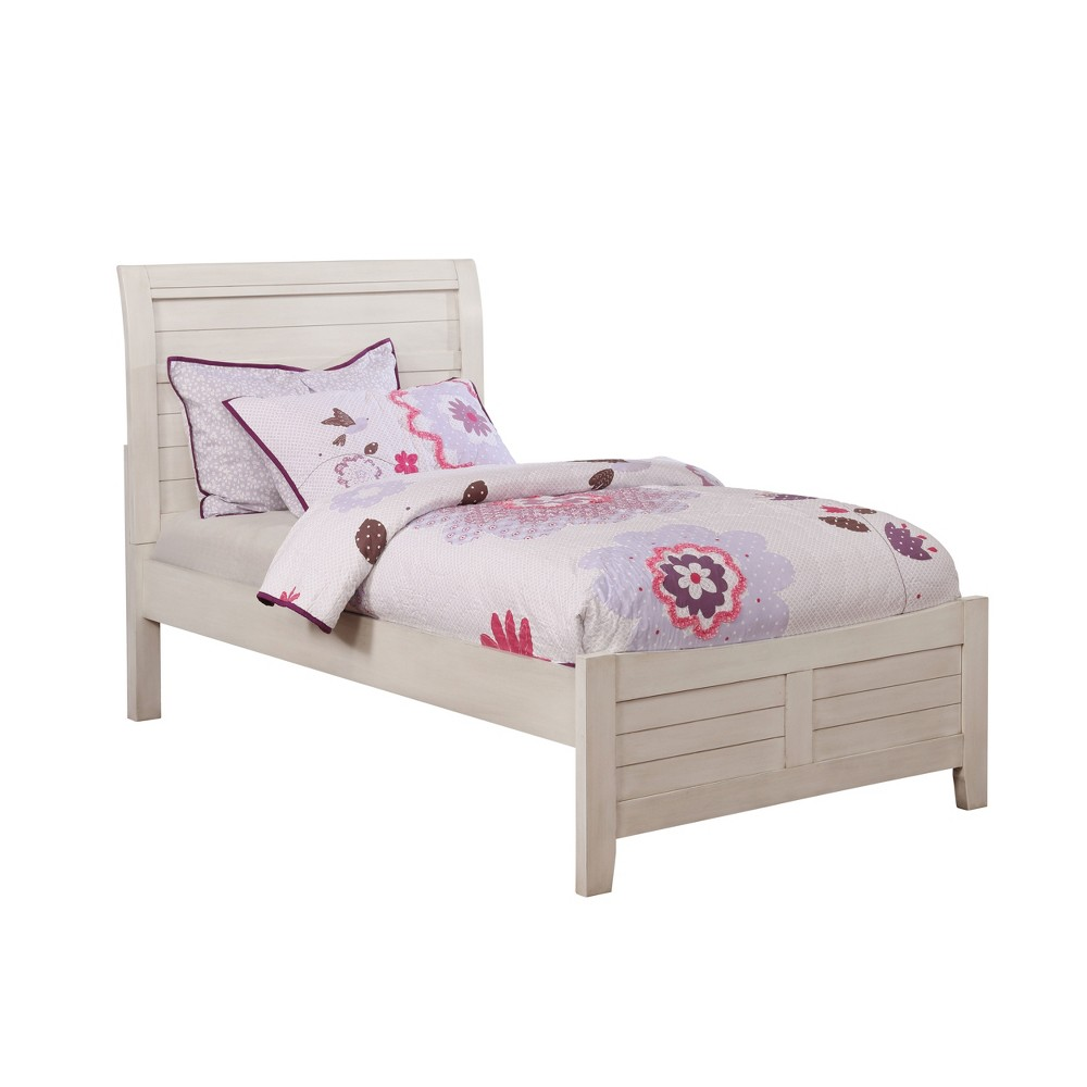 Ford Kids Wood Bed Antique White - Homes: Inside + Out