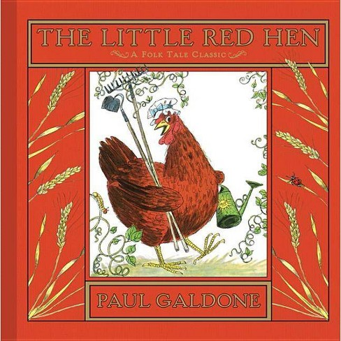 The Little Red Hen - (Paul Galdone Classics) by  Paul Galdone (Hardcover) - image 1 of 1