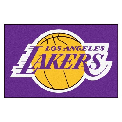 "1'6"" x 2'6"" Los Angeles Lakers Fanmat Accent Rug - 18x30"