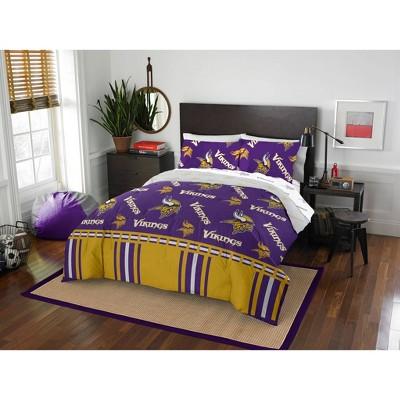 NFL Minnesota Vikings Rotary Bed Set