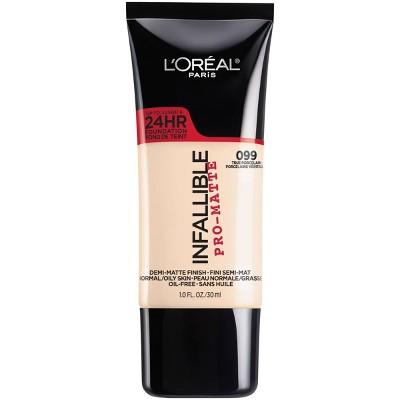 Face Makeup: L'Oreal Paris Infallible Pro-Matte Foundation