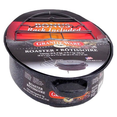 Granite Ware Roaster with Rack