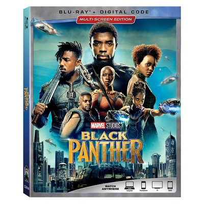 Black Panther (Blu-ray + Digital)
