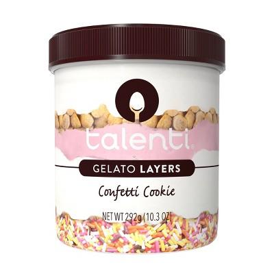 Talenti Gelato Layers Confetti Cookie - 10.3oz
