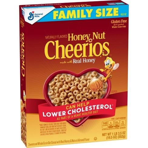 General Mills Cheerios Honey Nut Breakfast Cereal - 19.5oz - image 1 of 4