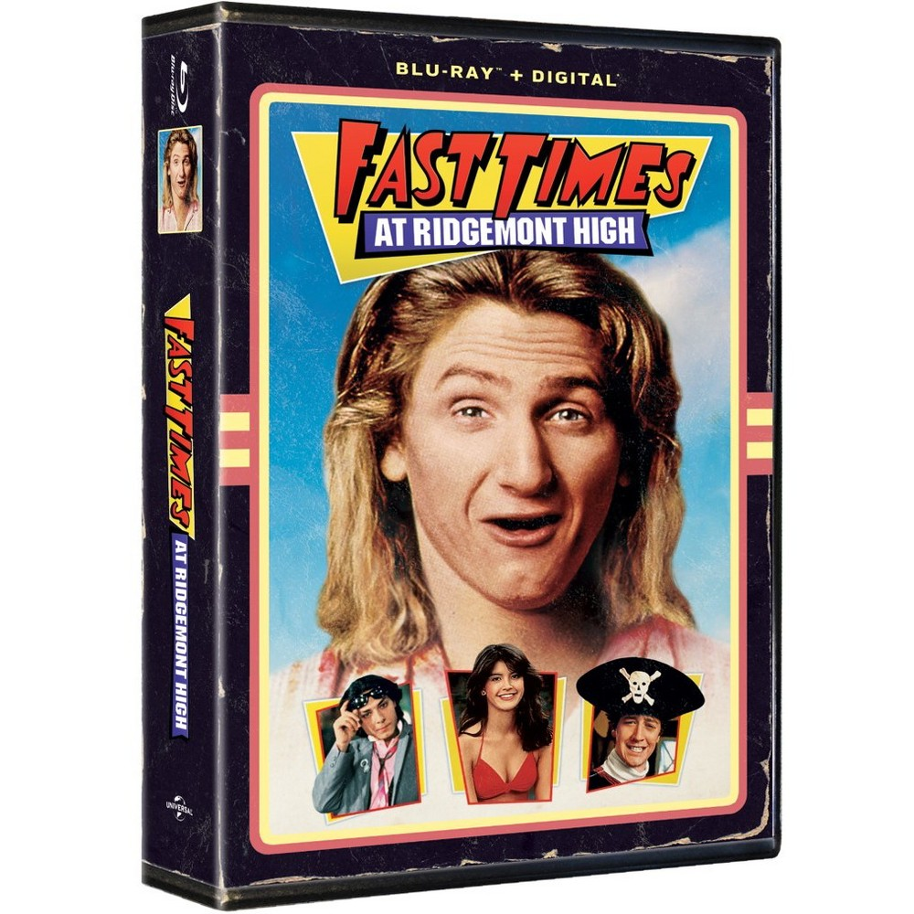 Fast Times at Ridgemont High (Vhs Artwork) (Blu-Ray)