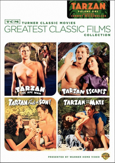 Tcm greatest:Weissmuller tarzan vol 1 (DVD) - image 1 of 1
