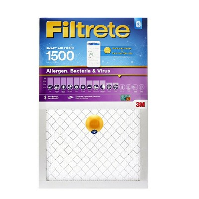 Filtrete Smart Air Filter Allergen Bacteria and Virus 1500 MPR