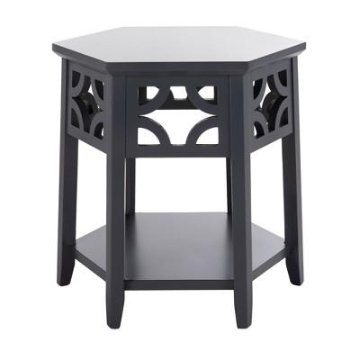 Connr Hexagon End Table - Safavieh