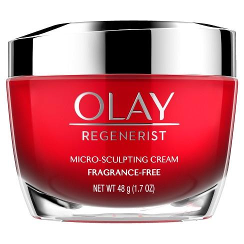Olay Regenerist Fragrance Free Micro-Sculpting Cream - 1.7oz - image 1 of 4