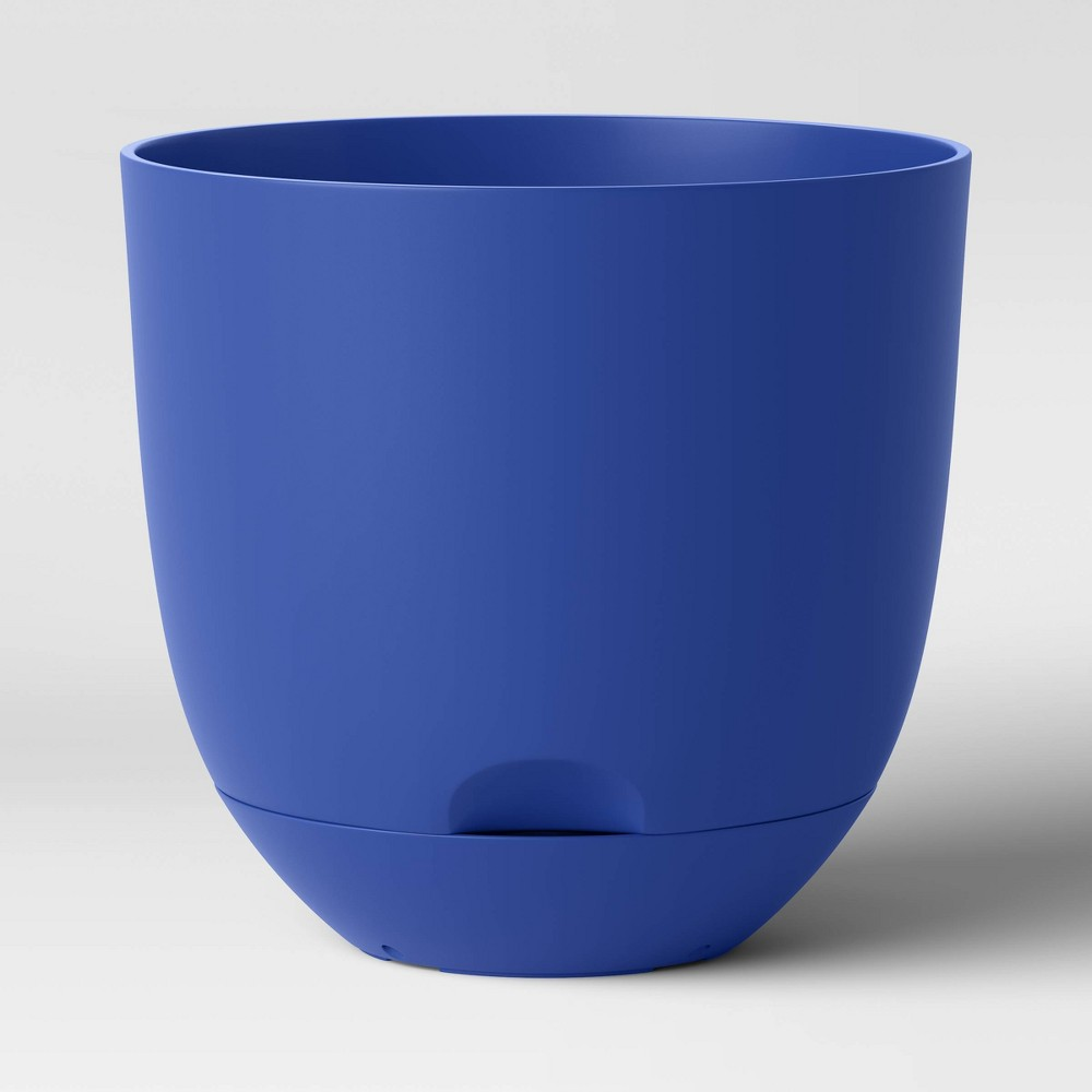 8 34 Self Watering Planter Dolphin Blue Room Essentials 8482
