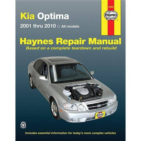 Kia Optima - (Haynes Manuals) (Paperback) - image 1 of 1