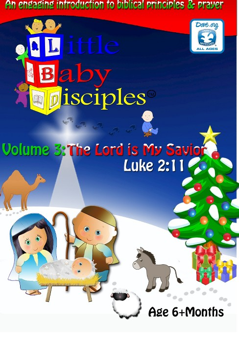 Little baby disciples vol 3:Lord is (DVD) - image 1 of 1