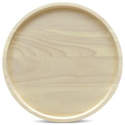 Noritake Hammock Wood Round Platter