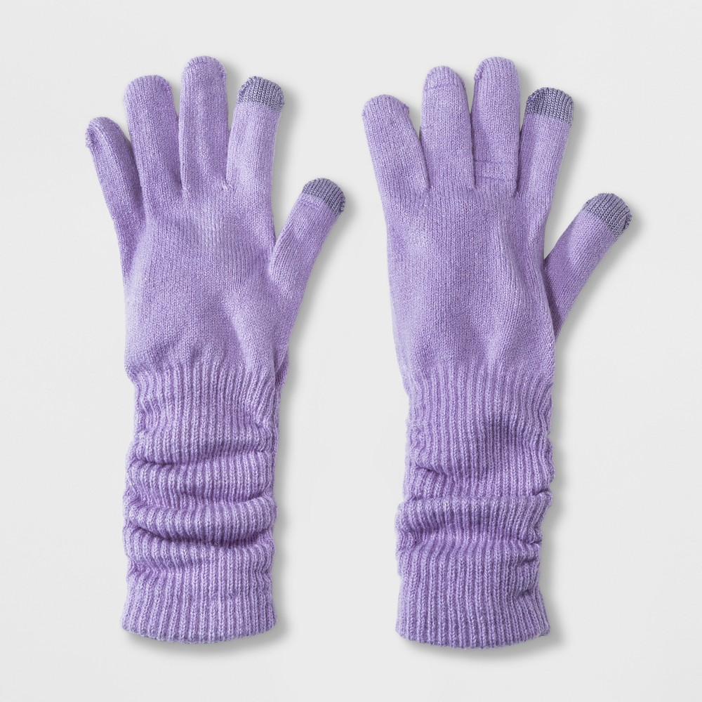 Women's Slouch Tech Touch Gloves - A New Day Lilac (Purple)