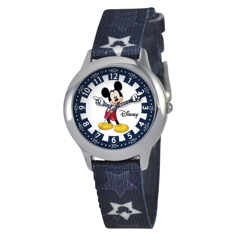 Boys' Disney Mickey Mouse Watch - Black, Size: 30.0