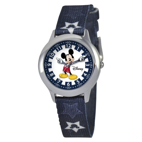 Boys' Disney Mickey Mouse Watch - Black - image 1 of 1