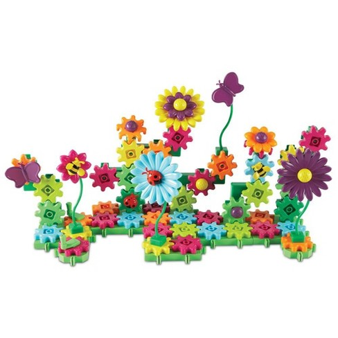 Learning Resources Gears! Gears! Gears! Build And Bloom Flower Garden Set - image 1 of 4