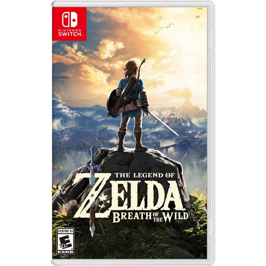 The Legend of Zelda: Breath of the Wild - Nintendo Switch image number null