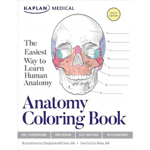 Kaplan Anatomy Coloring Book The Easiest Way To Learn Human