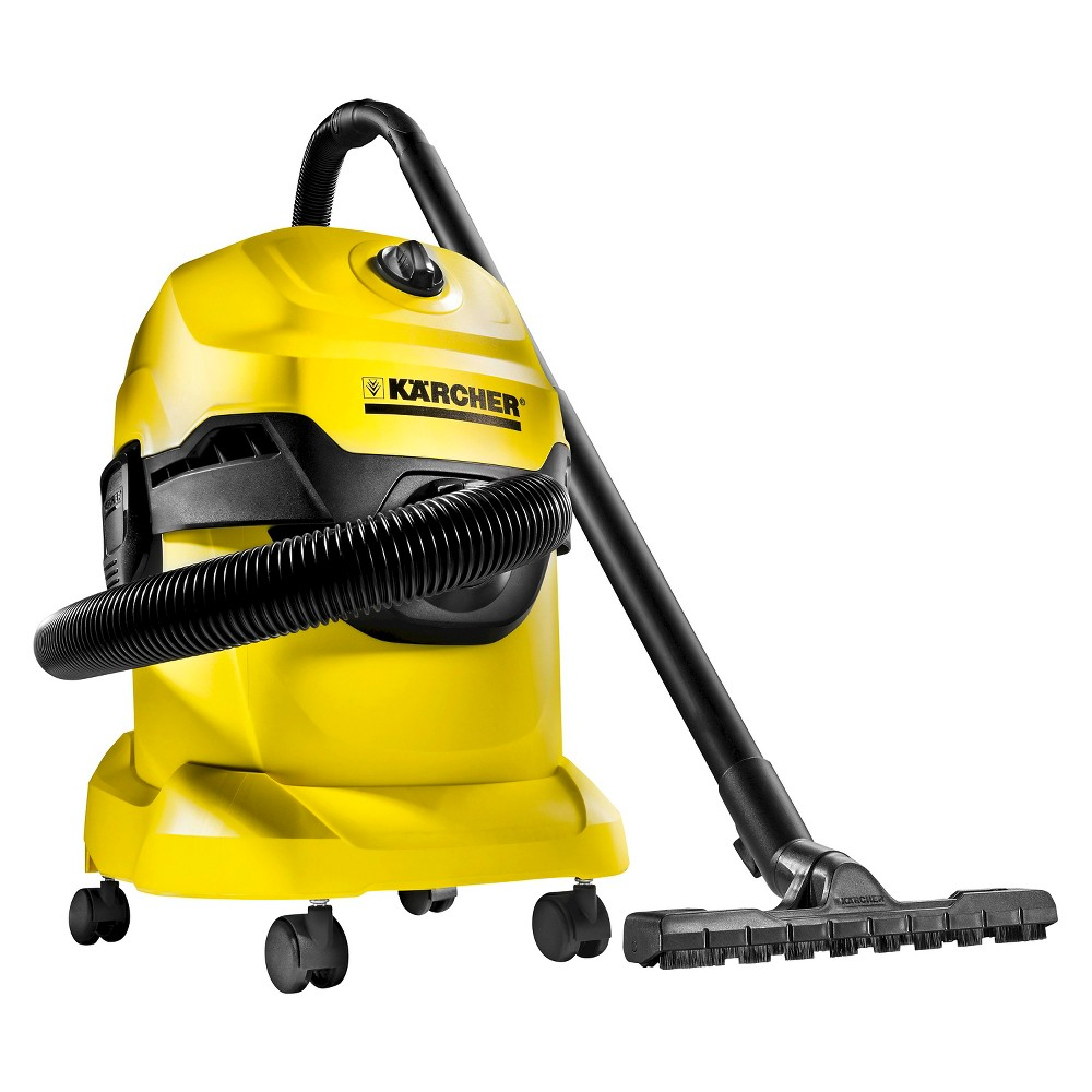 Image of Wd4 Wet/Dry Vacuum - Yellow - Karcher