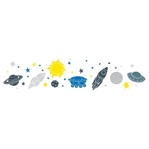 Space Wall Decal - image 1 of 2