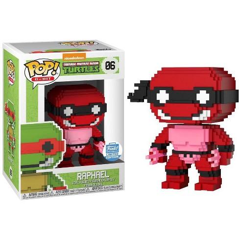 Neon Raphael Funko Teenage Mutant Ninja Turtles 8-Bit POP