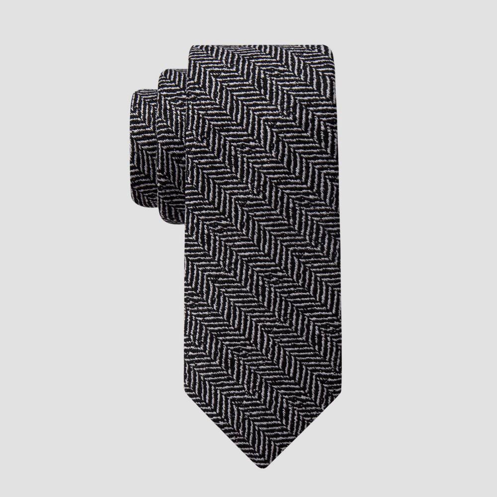 Men 39 S Hazen Herringbone Tie Goodfellow 38 Co 8482 Black