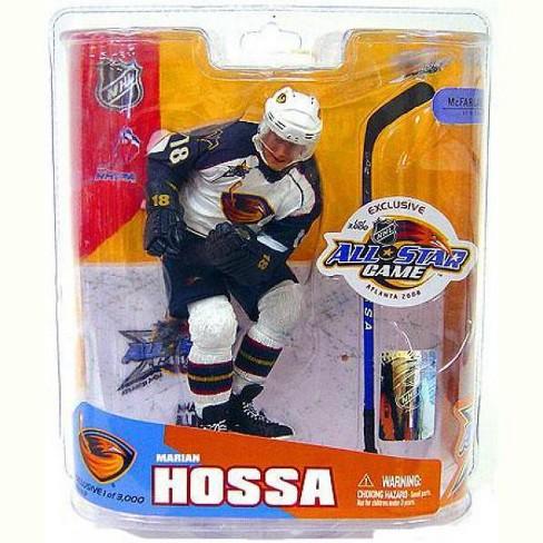 McFarlane Toys NHL Atlanta Thrashers Sports Picks All Star Game Marian Hossa Action Figure - image 1 of 1