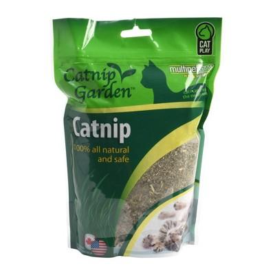 Multipet Garden Cat Catnip Cat Treats - 4oz