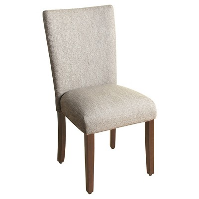 Parsons Chair with Espresso Leg - HomePop