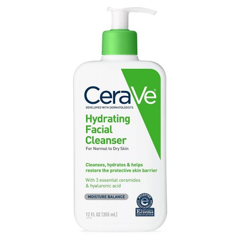 CeraVe Hydrating Facial Cleanser for Normal to Dry Skin - image 1 of 4