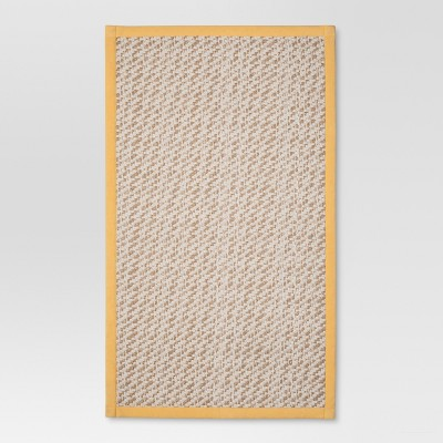 Yellow Solid rugs (1'8 x2'10 )- Threshold™