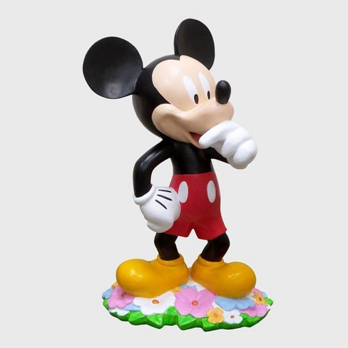 """Disney 18"""" Mickey Mouse With Flowers Resin Statue - image 1 of 4"""