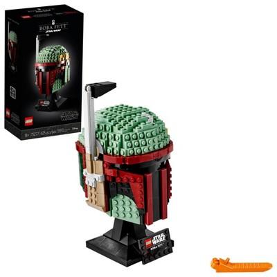 LEGO Star Wars Boba Fett Helmet Building Kit; Cool Collectible Star Wars Set 75277