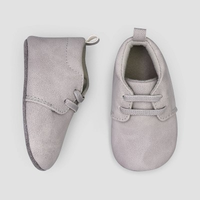 Baby Boys' Desert Boot Crib Shoes - Just One You® made by carter's Gray 3-6M