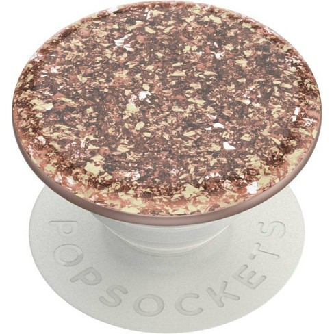 PopSocket Cell Phone Grip & Stand Foil Confetti - Rose Gold - image 1 of 4