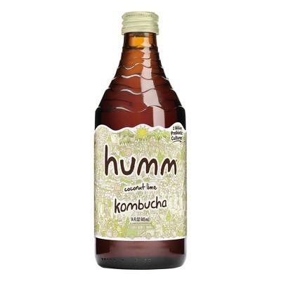Humm Coconut Lime Kombucha 14oz