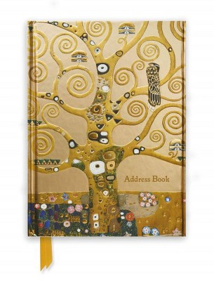 Klimt Tree of Life Address Book (New)(Hardcover)