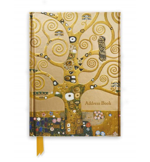 Klimt Tree of Life Address Book (New) (Hardcover) - image 1 of 1